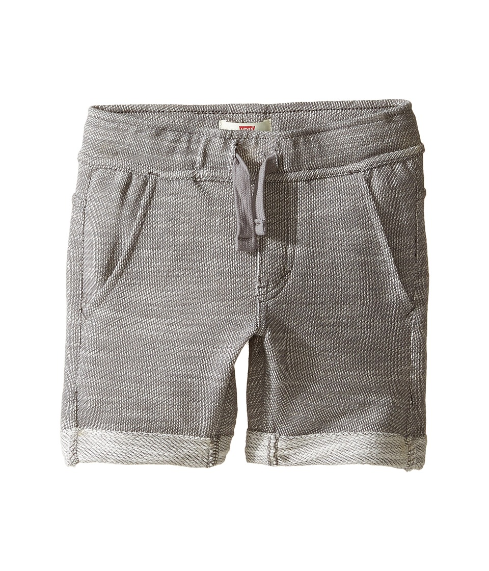 Levi's(r) Kids - Athleisure Knit Shorts (Little Kids) (Smoked Pearl) Boy's Shorts