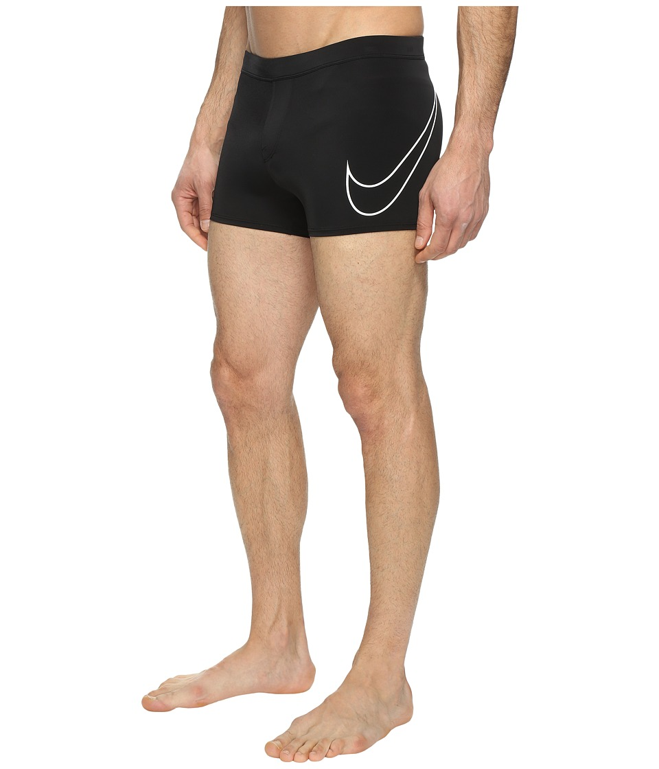 Nike - Yield Metro Shorts (Black) Men's Swimwear