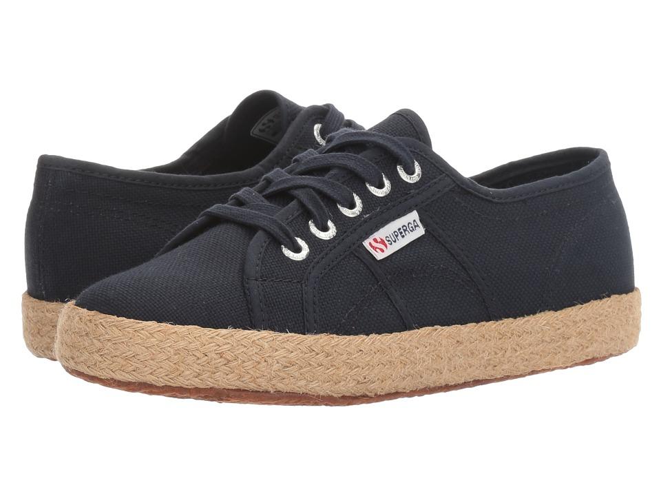 Superga - 2750 Cotropew (Navy) Women's Shoes