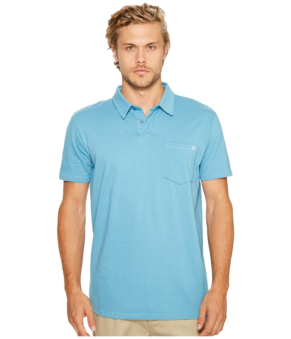 Billabong - Standard Issue Polo Shirt (Petrol Blue) Men's Clothing