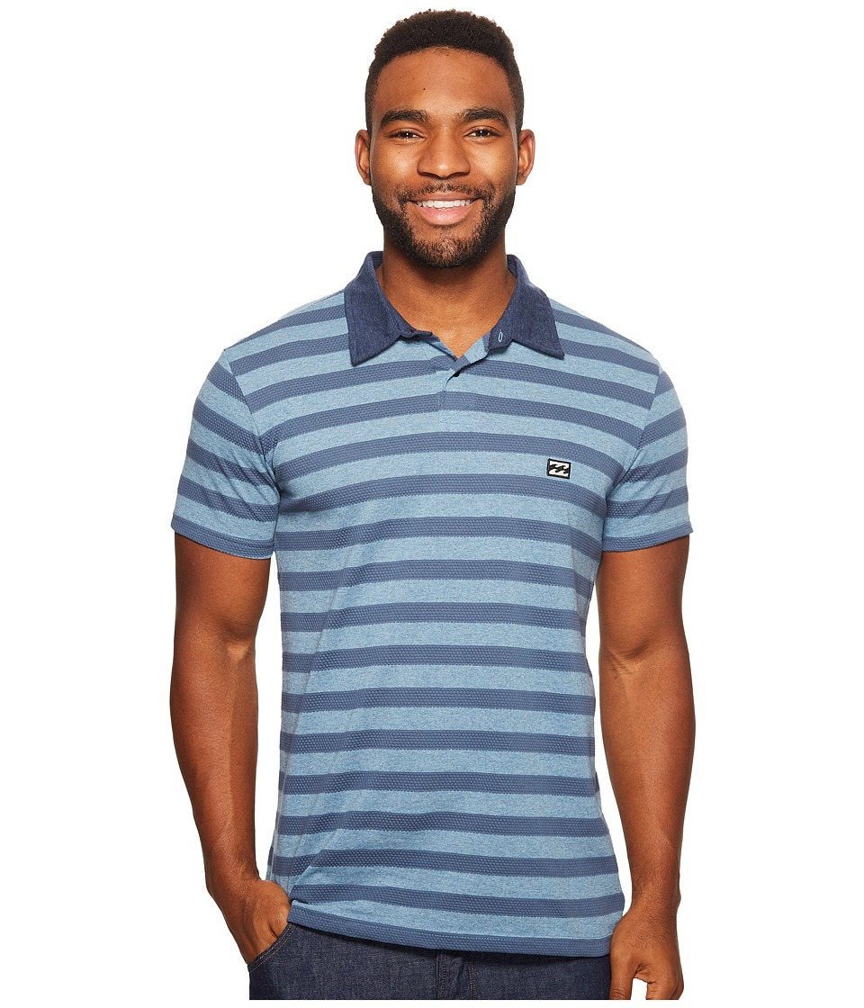 Billabong - Bonito Polo (Petrol Blue) Men's Clothing