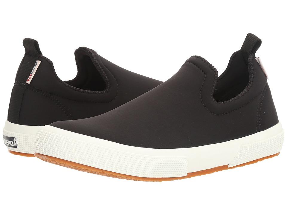 Superga - 2411 Neoprenew (Black) Women's Slip on Shoes