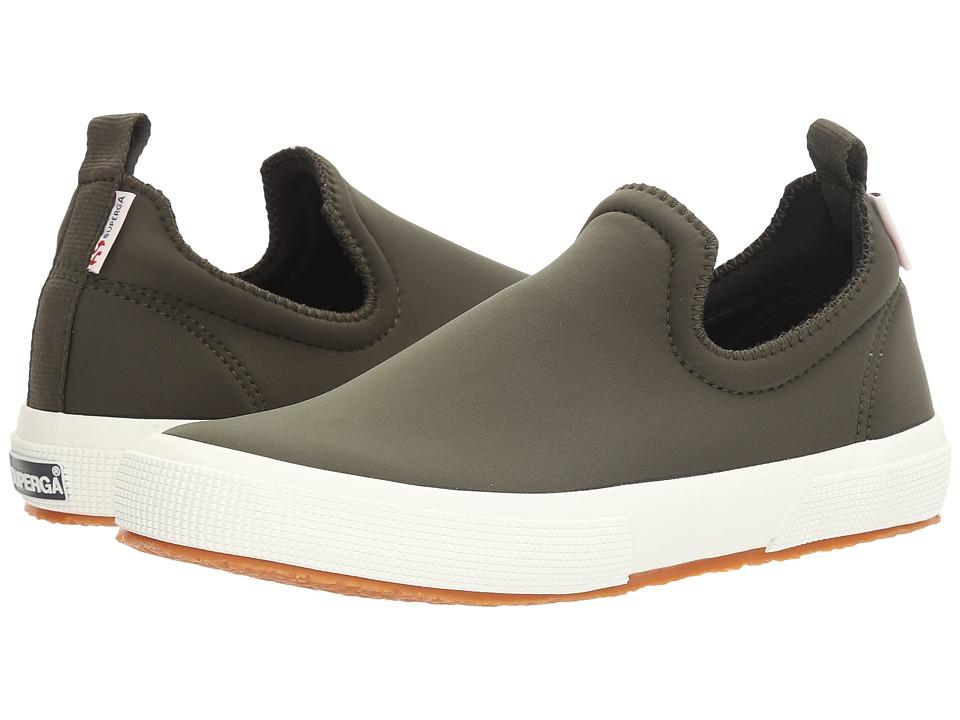 Superga - 2411 Neoprenew (Military) Women's Slip on Shoes