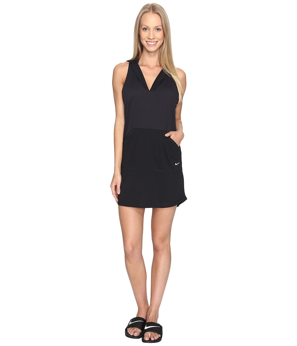 Nike - Cover-Up Dress (Black) Women's Swimwear