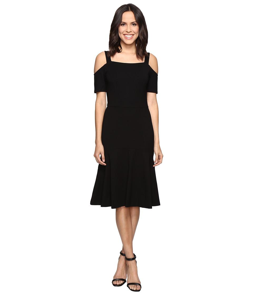 Adelyn Rae Cold Shoulder Dress (Black) Women
