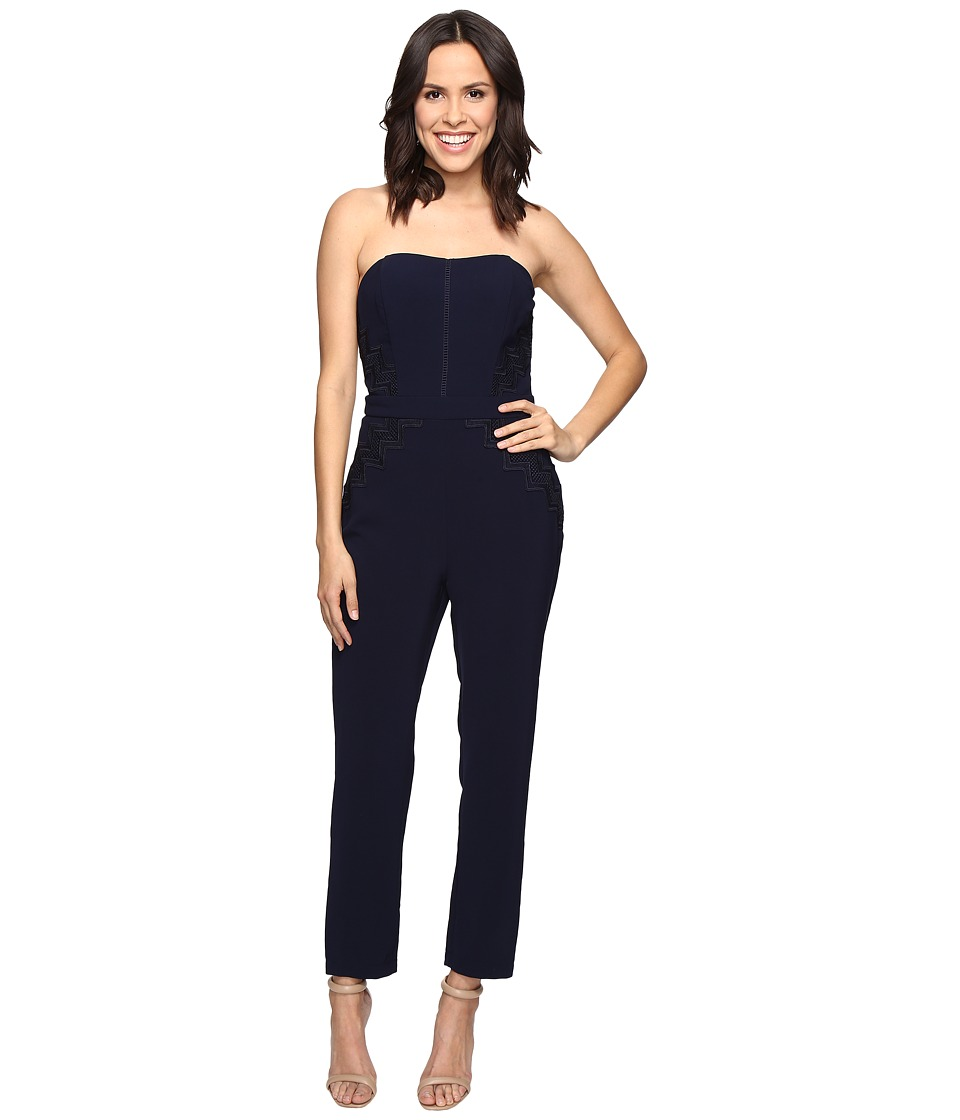 Adelyn Rae - Tube Jumpsuit (Navy) Women's Jumpsuit & Rompers One Piece