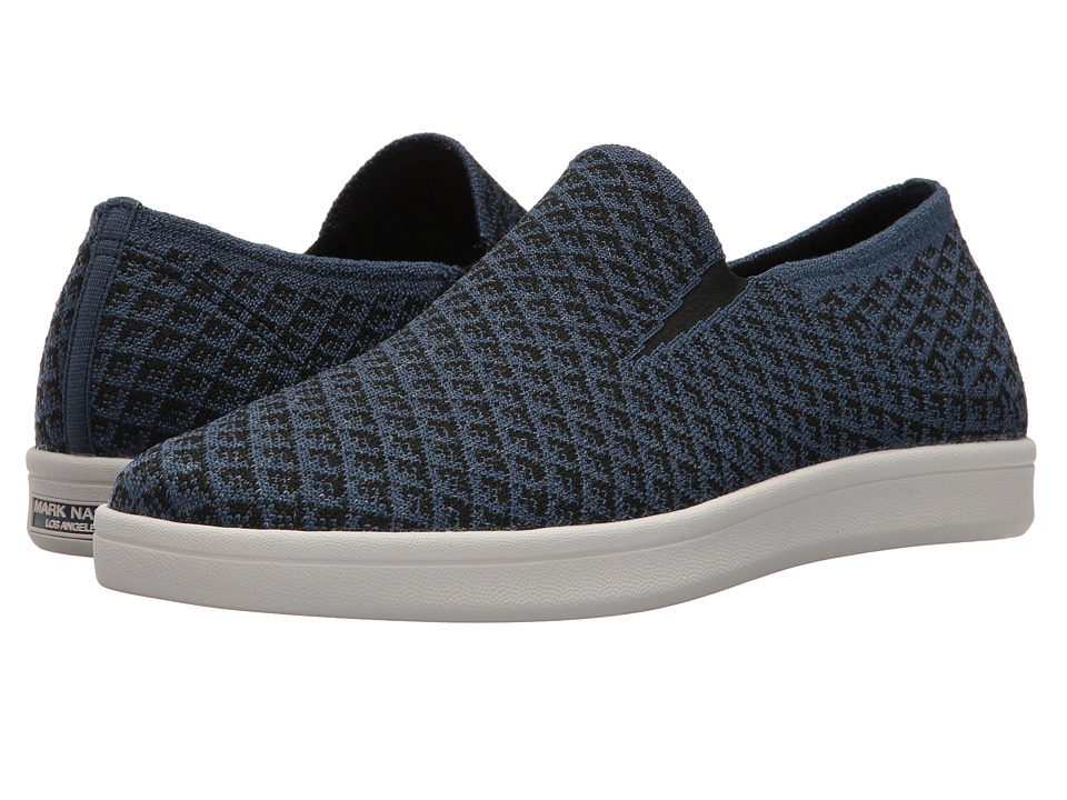 Mark Nason - Cabrillo Gotland (Navy Flat Knit) Men's Shoes