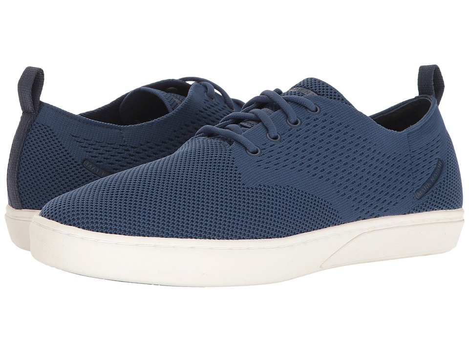 Mark Nason - Union (Navy Flat Knit/White Bottom) Men's Shoes