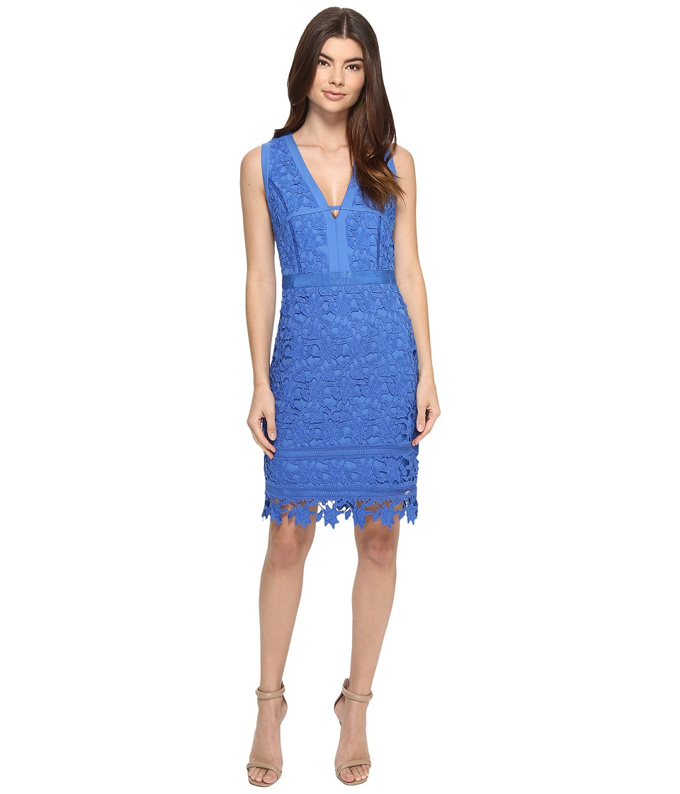 Adelyn Rae - Lace Dress (Cornflower Blue) Women's Dress