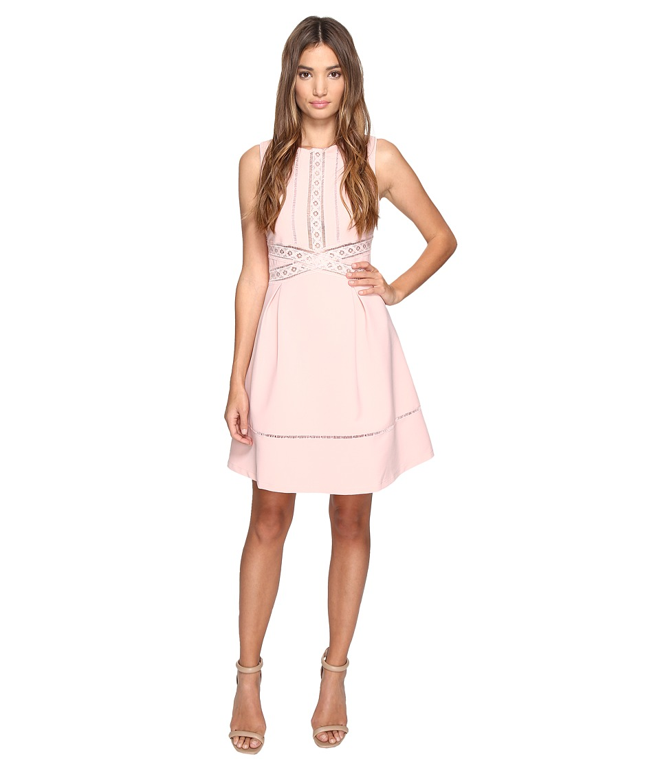 Adelyn Rae - Fit and Flare Dress (Light Pink) Women's Dress