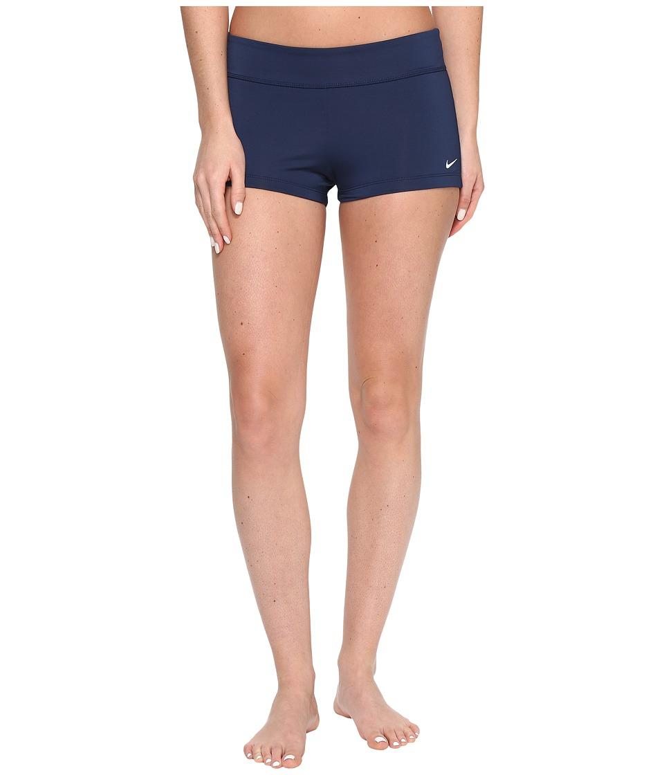 Nike Core Solid Kick Shorts (Midnight Navy) Women