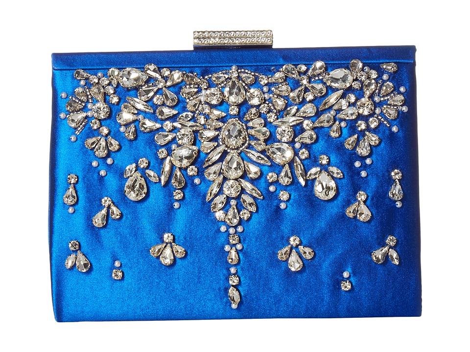 Badgley Mischka - Adele (Sapphire) Clutch Handbags