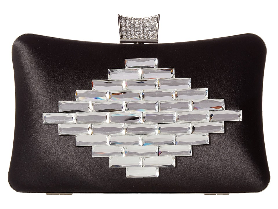 Badgley Mischka - Aero (Black) Clutch Handbags