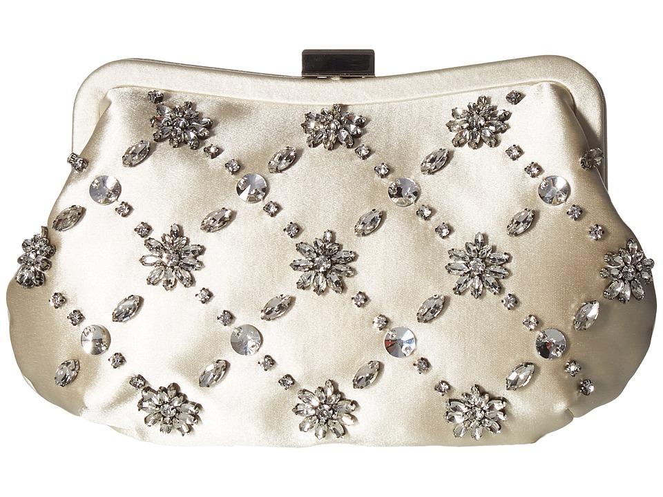 Badgley Mischka - Avery (Ivory) Clutch Handbags