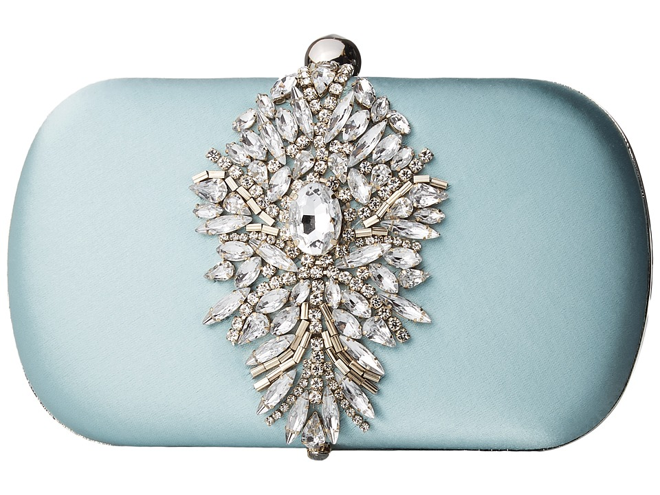 Badgley Mischka - Aurora (Blue Radiance) Clutch Handbags