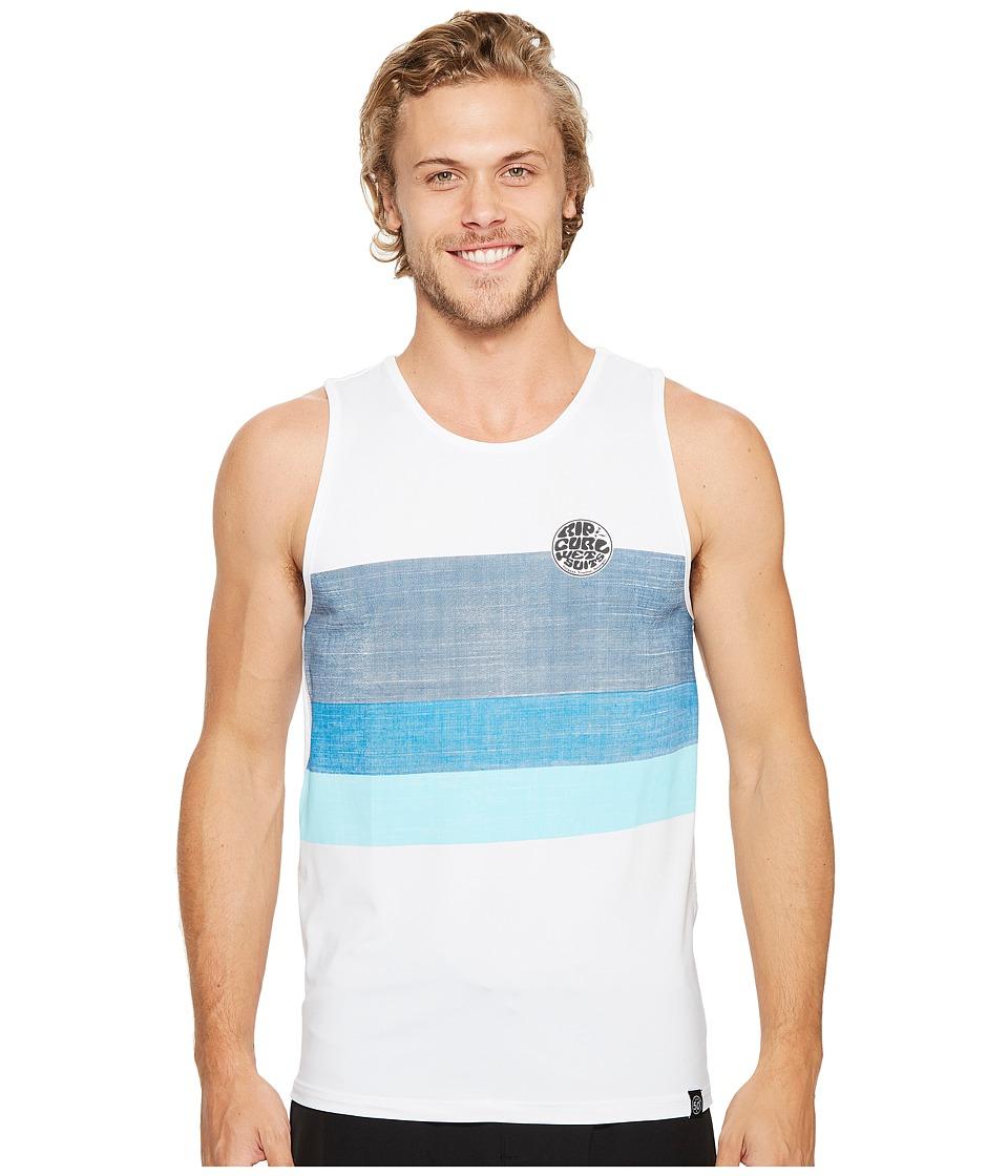 Rip Curl Surf Craft Tank Top (White) Men
