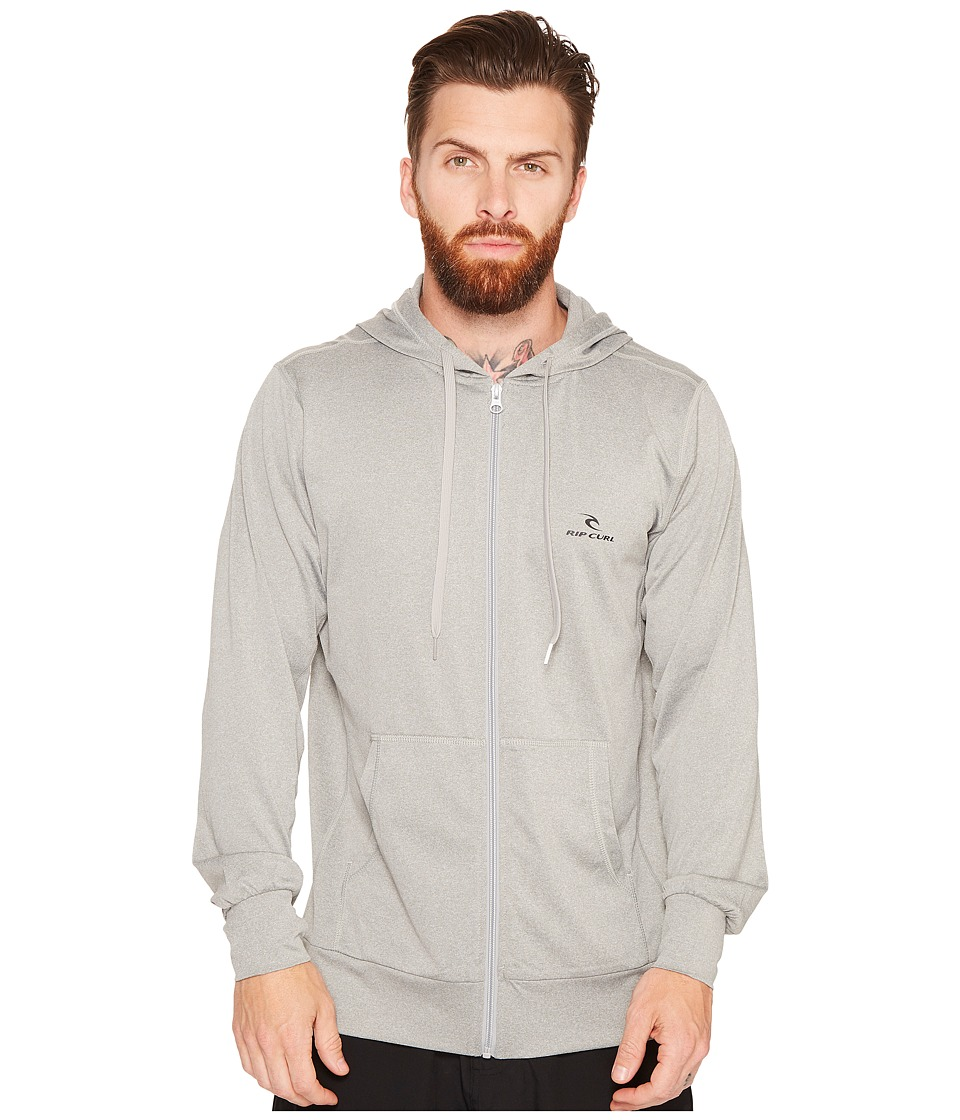 Rip Curl Search Series Zip Hoodie (Grey) Men