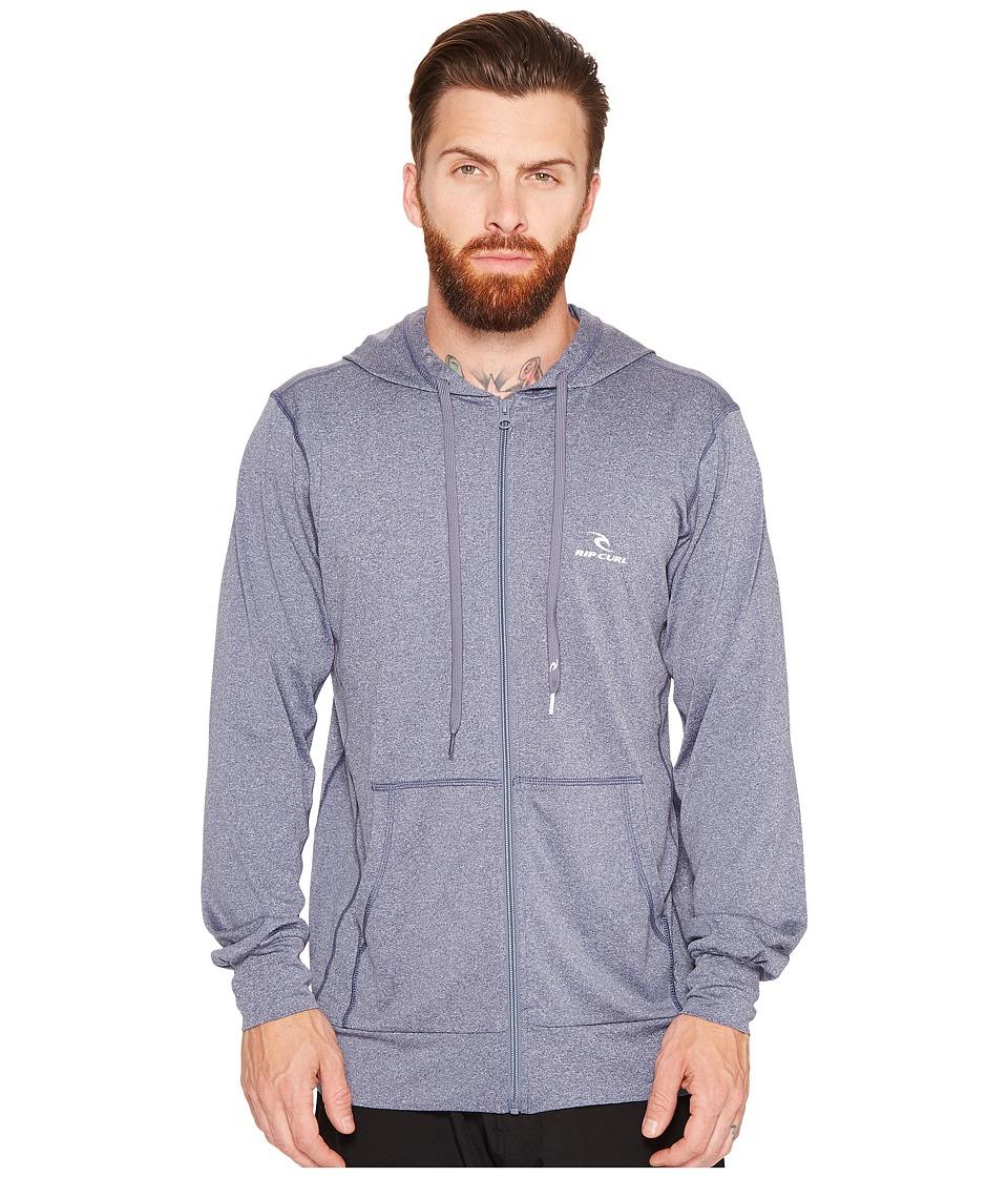 Rip Curl - Search Series Zip Hoodie (Navy) Men's Swimwear