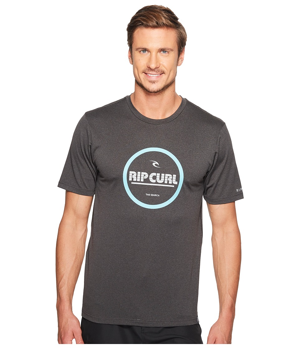 Rip Curl - Search Series Graphic Short Sleeve (Black) Men's Swimwear