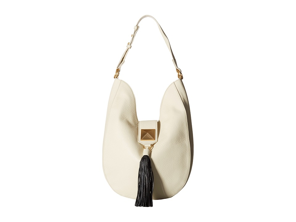 Badgley Mischka - Bailey Hobo (Ivory) Hobo Handbags