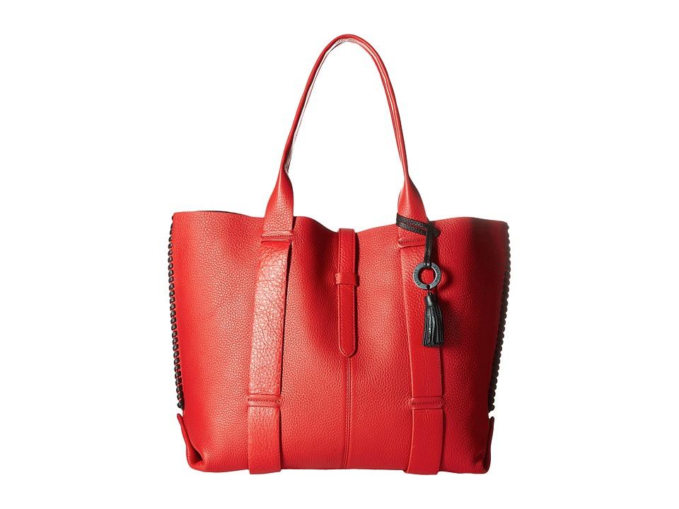 Badgley Mischka - Barret Tote (Red) Tote Handbags
