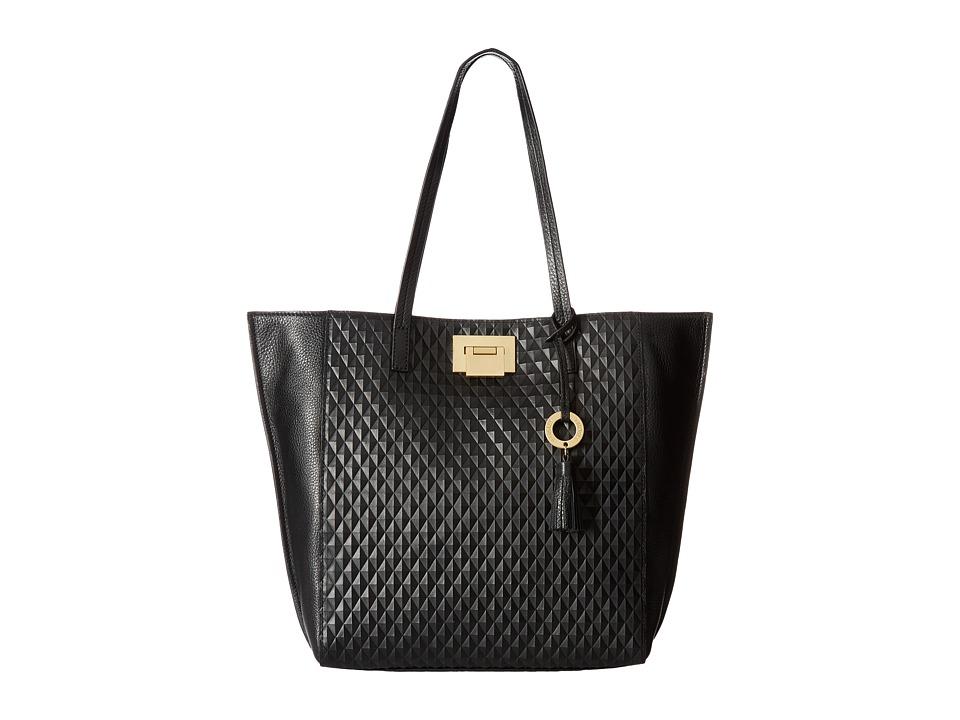 Badgley Mischka - Blanche Tote (Black) Tote Handbags