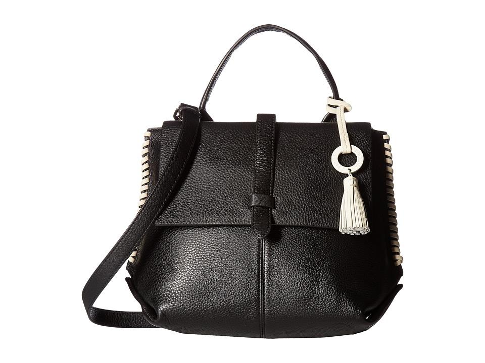 Badgley Mischka - Barret Satchel (Black) Satchel Handbags