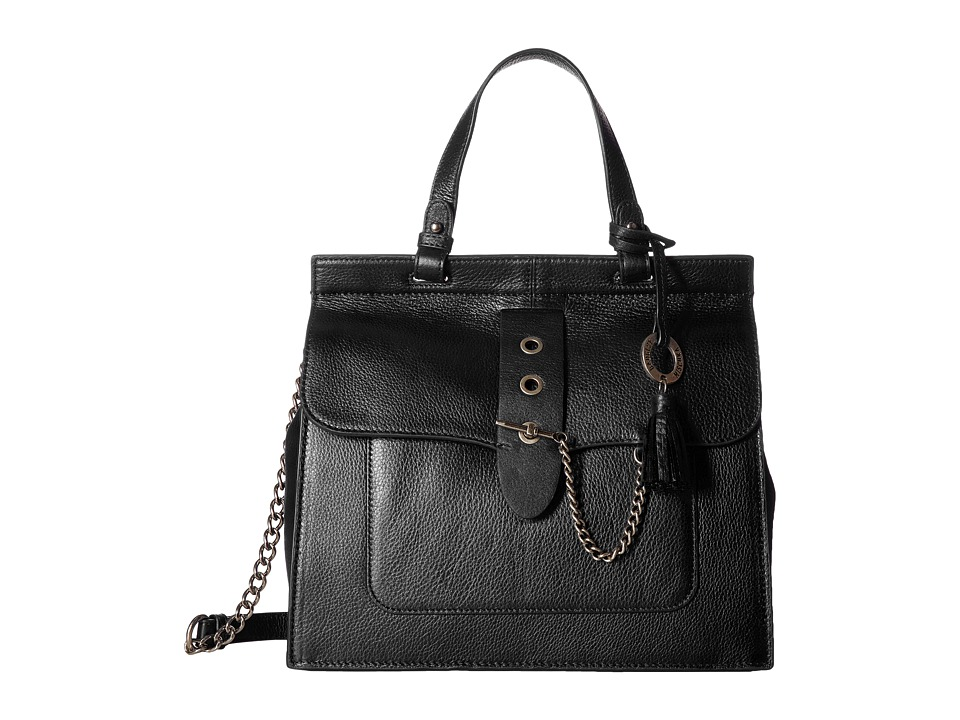 Badgley Mischka - Beulah Satchel (Black) Satchel Handbags