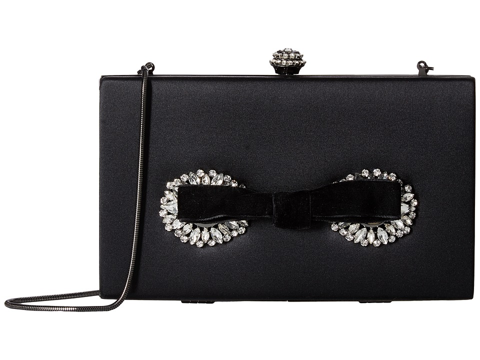 Badgley Mischka Autumn (Black) Clutch Handbags