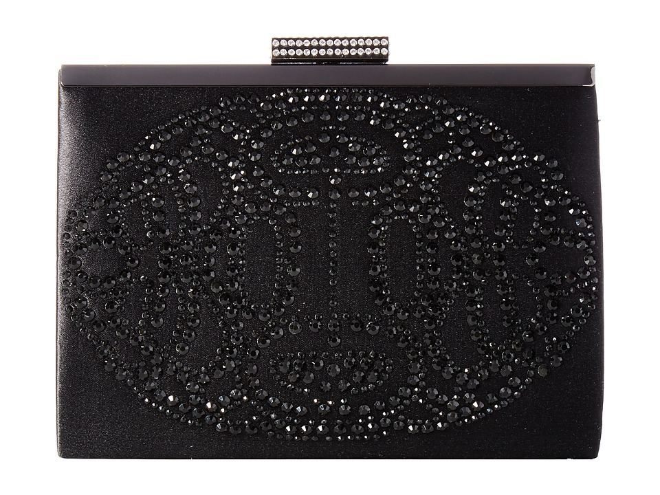 Badgley Mischka - Alice (Black) Clutch Handbags