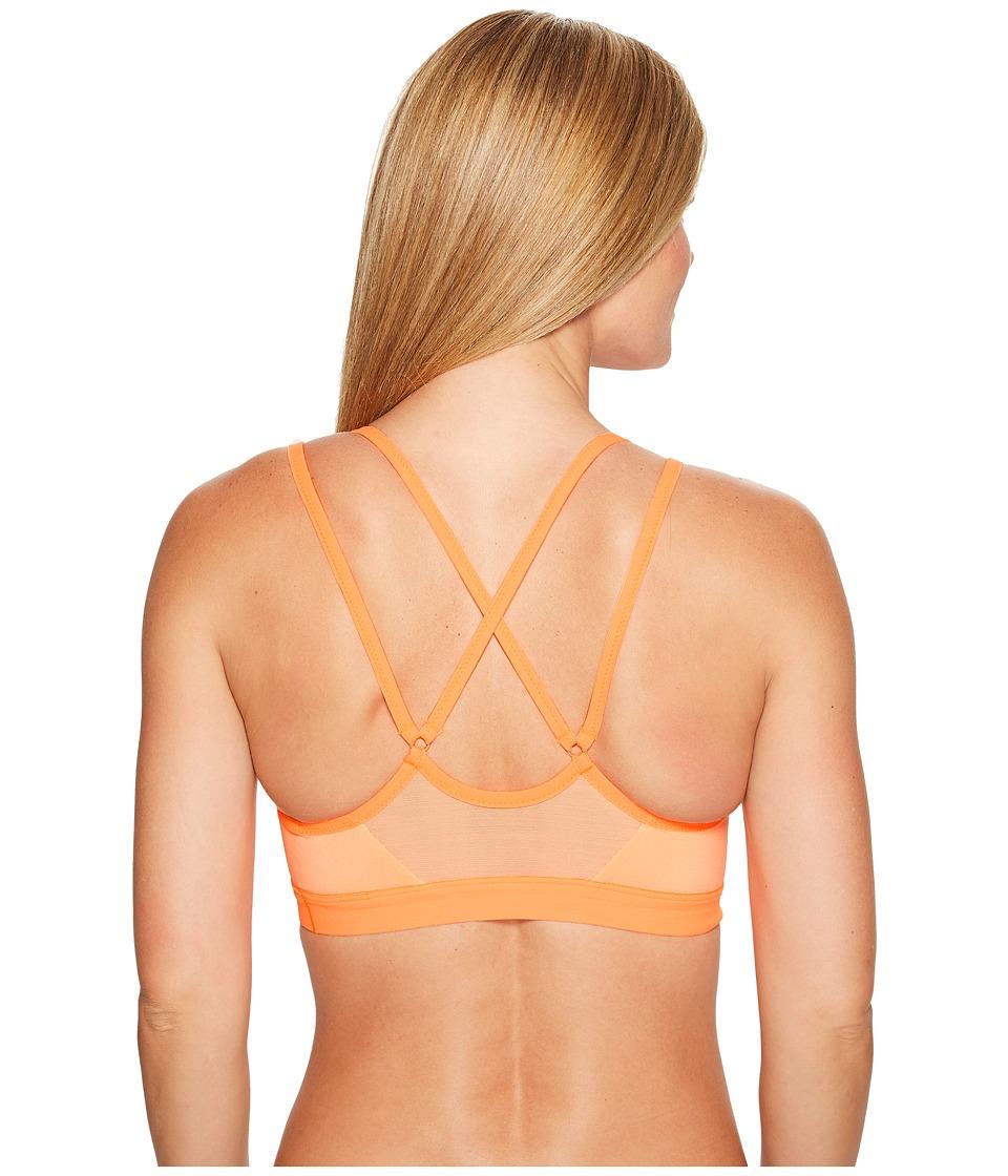 Nike - Pro Indy Light Support Sports Bra (Sunset Glow/Tart/Tart) Women's Bra