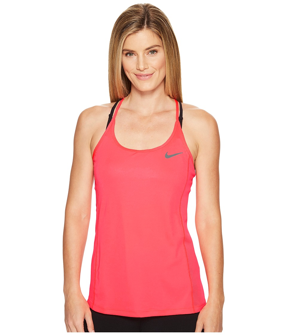 Nike - Dry Miler Running Tank (Racer Pink/Sport Fuchsia) Women's Clothing