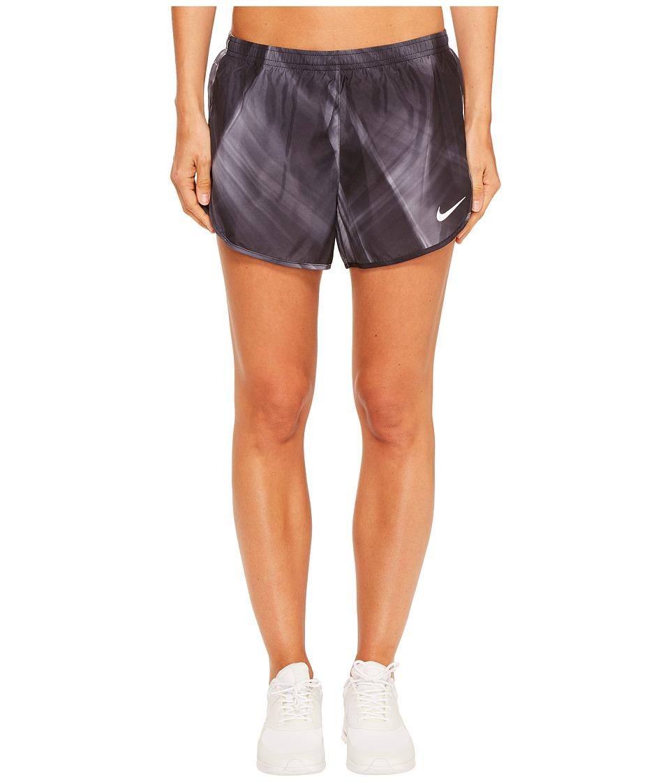 Nike - Dry Tempo Modern Print Running Short (Black/Black) Women's Shorts