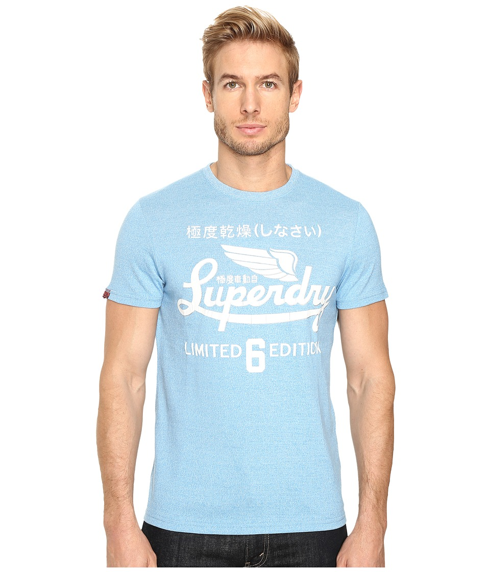 Superdry - Limited Icarus Tee (Heritage Blue Jaspe) Men's T Shirt