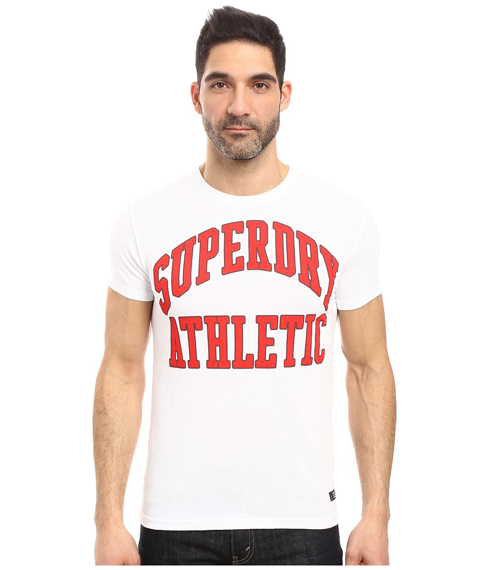 Superdry - Tigers Athletics Tee (Optic Heather) Men's T Shirt
