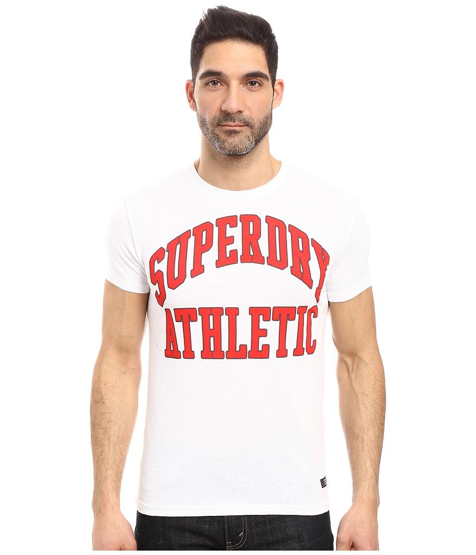 Superdry - Tigers Athletics Tee (Optic Heather) Men's T Shirt