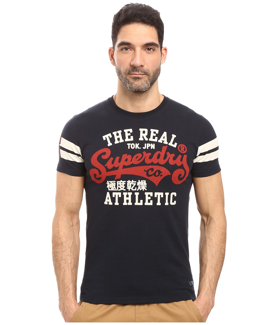 Superdry - Real Tokyo Tee (Eclipse Navy) Men's T Shirt