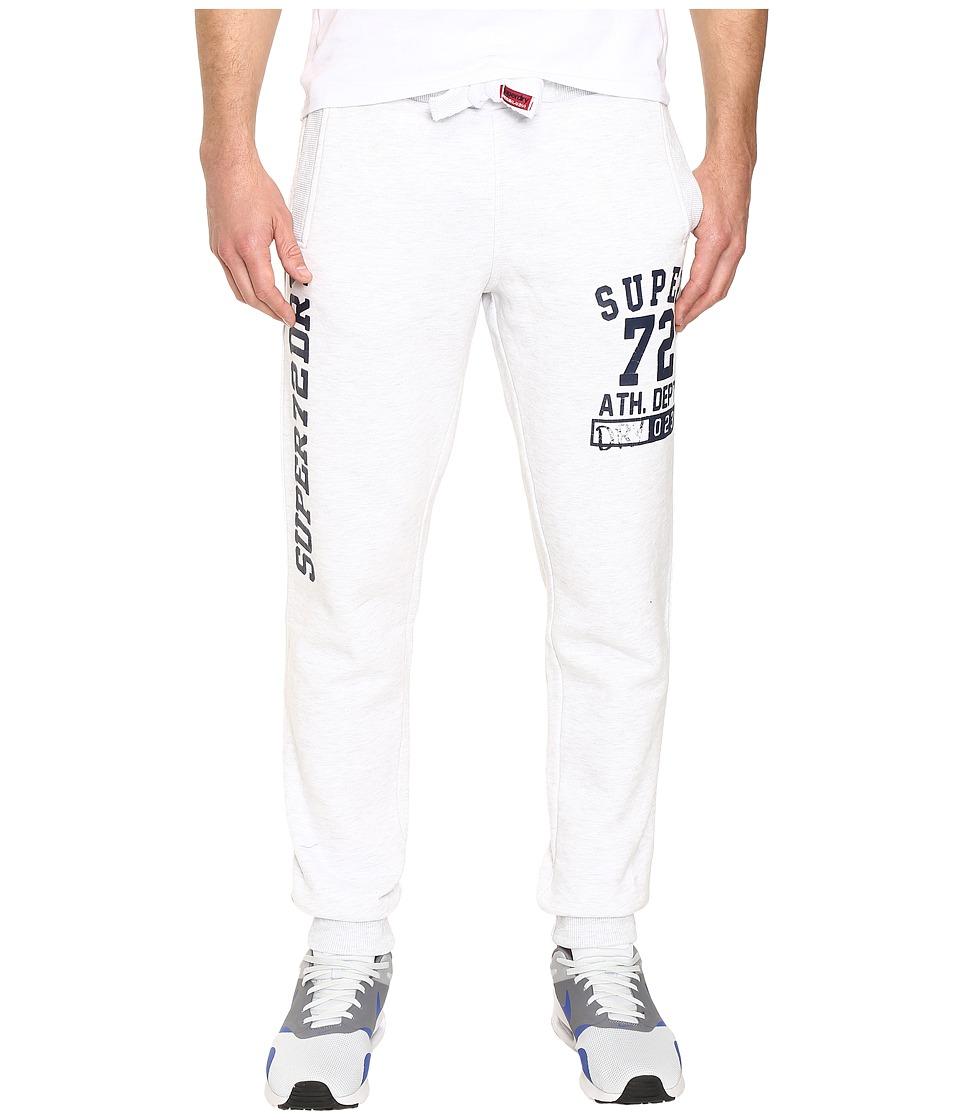 Superdry - Trackster Jogger (Ice Marl) Men's Workout