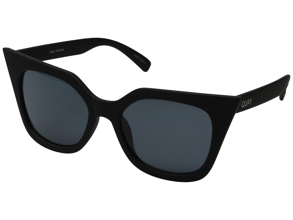 QUAY AUSTRALIA - Harper (Black/Smoke) Fashion Sunglasses