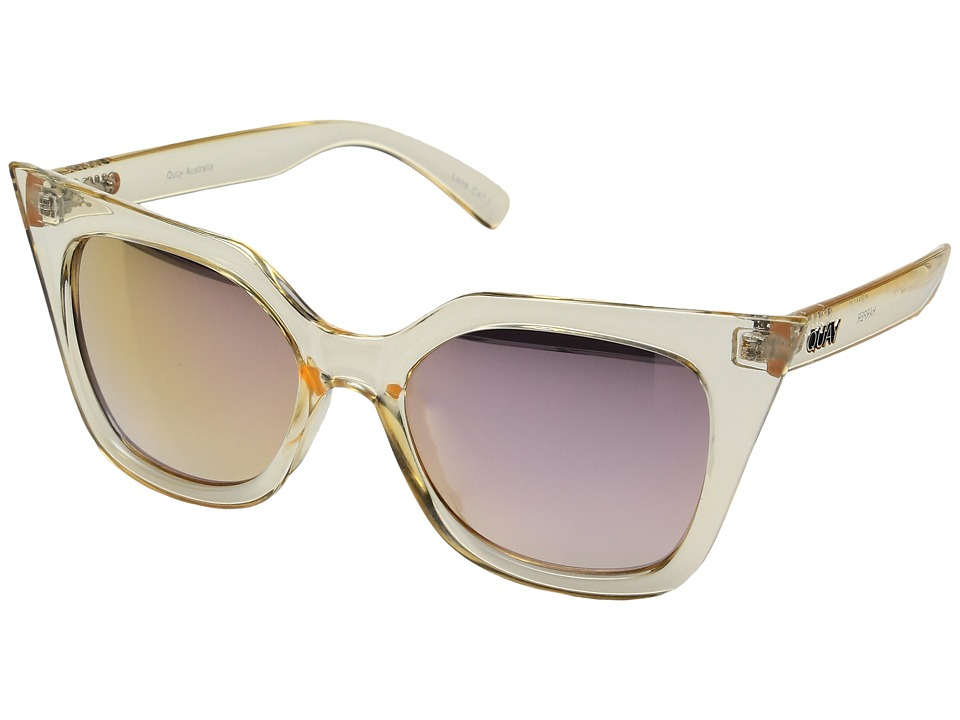QUAY AUSTRALIA - Harper (Gold/Gold) Fashion Sunglasses