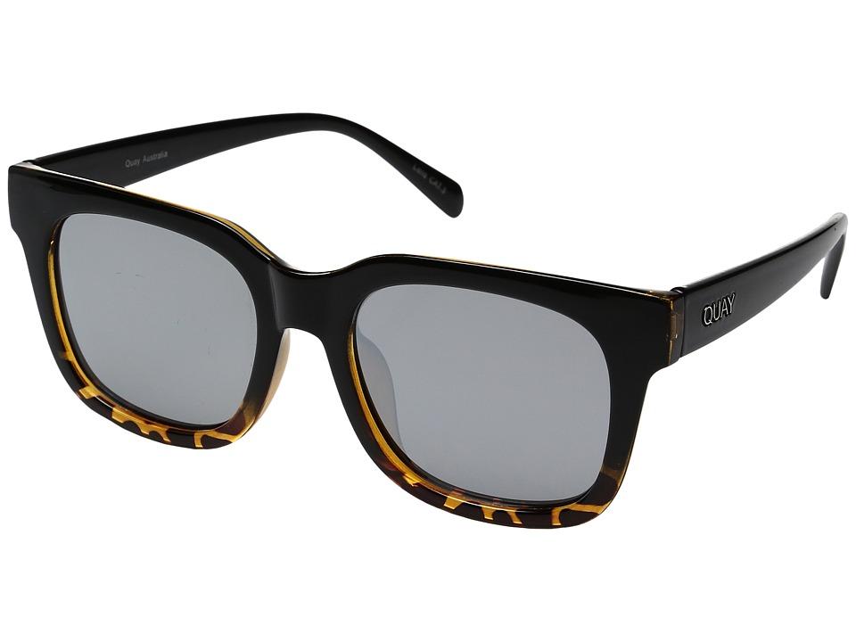 QUAY AUSTRALIA - Libre (Tortoise/Silver) Fashion Sunglasses