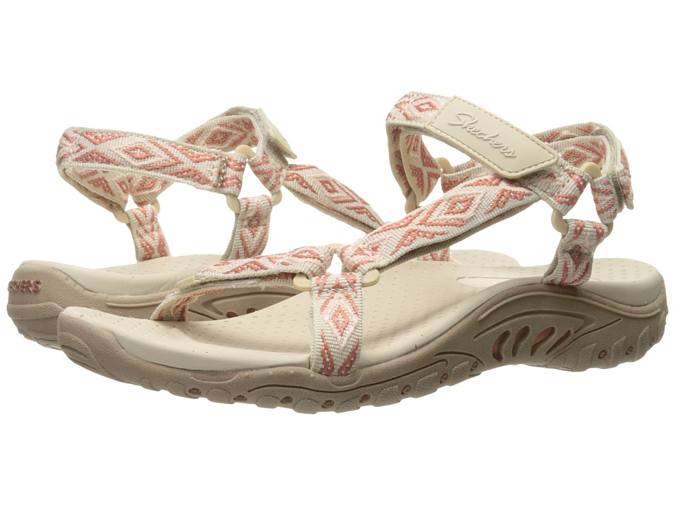SKECHERS - Reggae - Decked Out (Natural) Women's Shoes