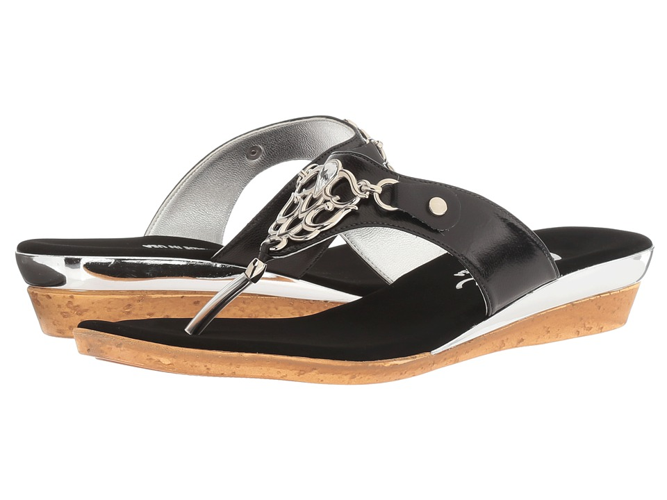 Onex - Raindrop (Black) Women's Sandals