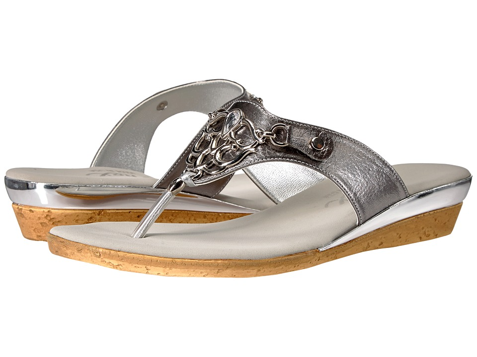 Onex - Raindrop (Pewter) Women's Sandals
