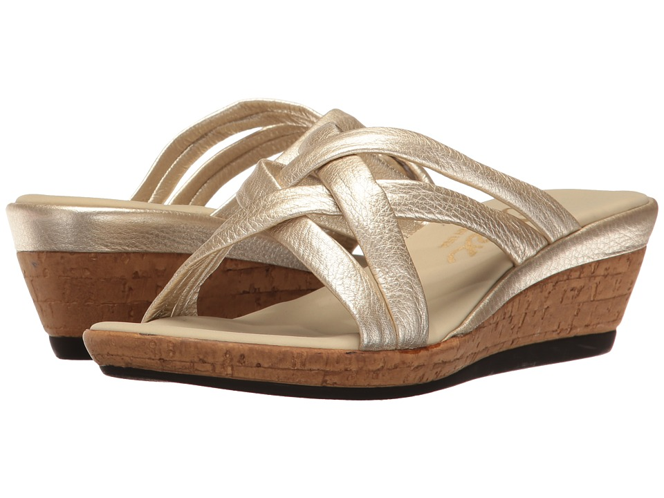 Onex - Camy (Platinum) Women's Wedge Shoes