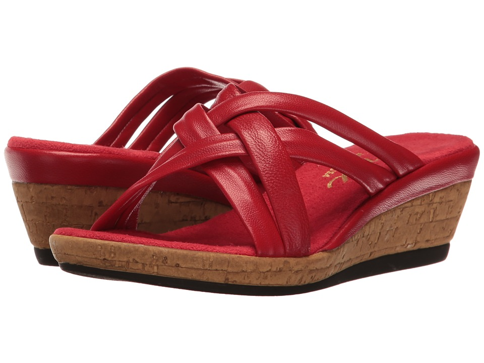 Onex - Camy (Red) Women's Wedge Shoes