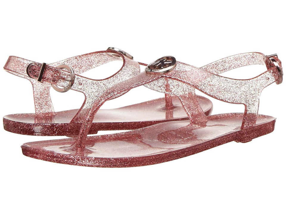 MICHAEL Michael Kors Kids - Jelly Myra (Little Kid/Big Kid) (Rose Gold Glitter) Girl's Shoes