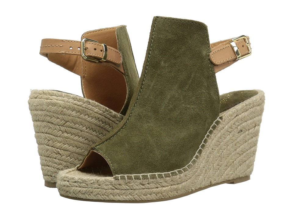 Seychelles - Charismatic (Olive Suede) Women's Wedge Shoes