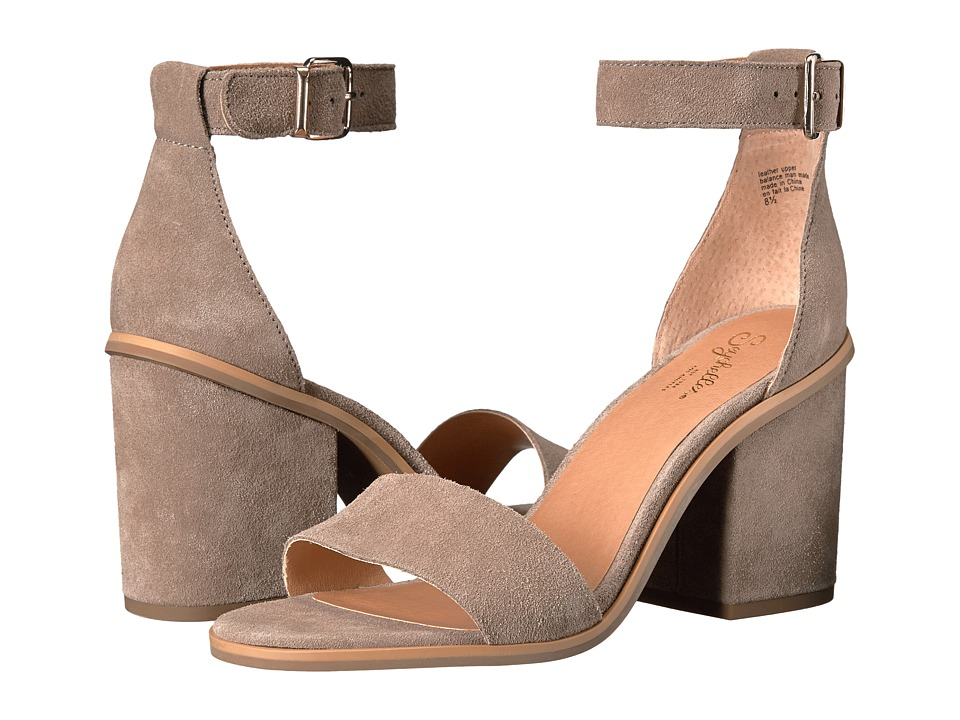 Seychelles - Movement (Taupe Suede) Women's 1-2 inch heel Shoes