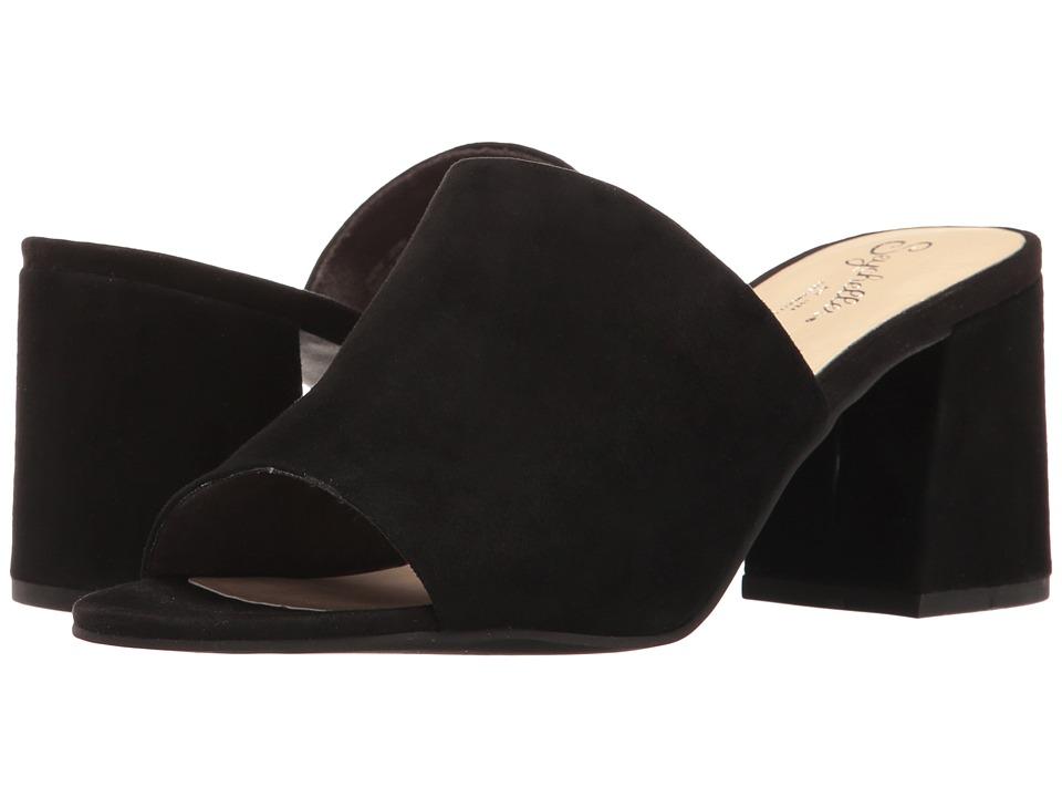 Seychelles - Commute (Black Suede) Women's Clog/Mule Shoes